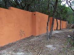 8' Stucco wall