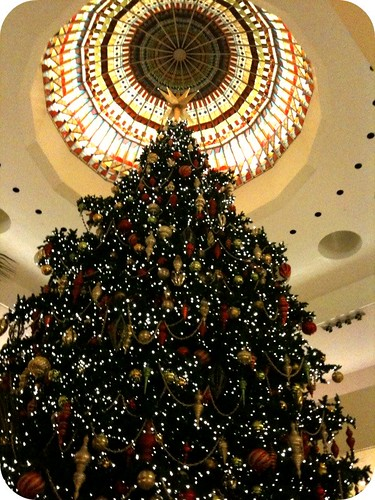Tree at South Coast Plaza