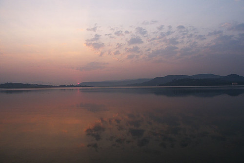 Sunset on Khadakwasla