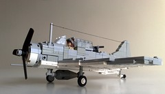 "SBD ""Dirty"" Dauntless (Babalas Shipyards) Tags: scale lego aircraft military douglass minifig usnavy dauntless minifigure sbd"