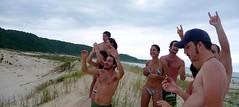 (alvez) Tags: reveillon summer brazil sun sol praia beach brasil playa verano brazilian galera garopaba ferrugem brasileiro sul guarda calor guardadoembau verao