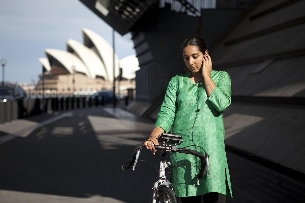 Rider Spoke in Sydney 2009. Photo credit Alex Kershaw