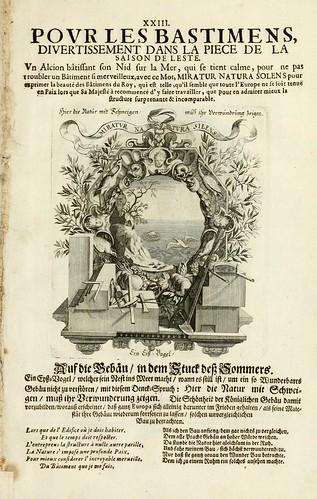 026-Divisa 3 tapiz del Verano-Tapisseries du roy, ou sont representez les quatre elemens 1690- Sebastien Le Clerc