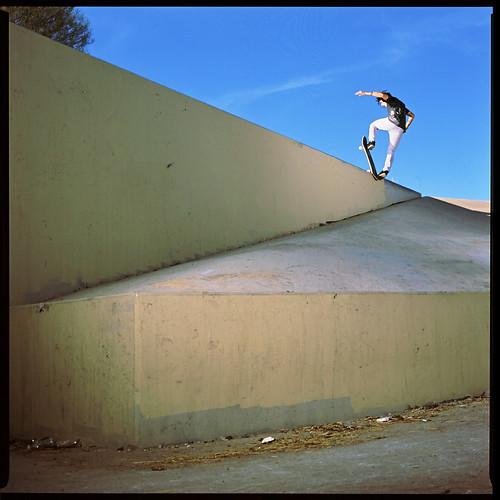 Chris Weigele Frontside Blunt Slide Pop Out
