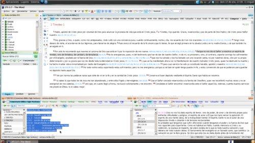 The word, una herramienta para el estudio bíblico.