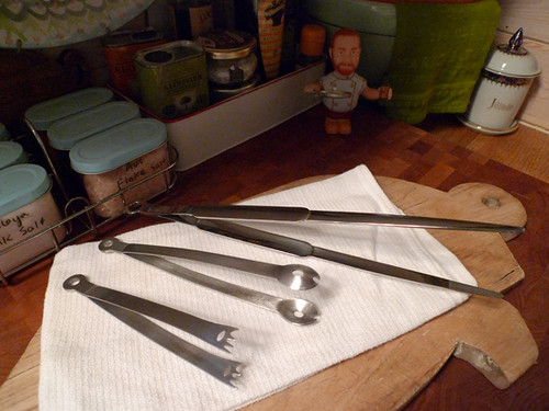 "My Kitchen ""Tweezers"" (Tongs)"