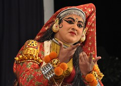 Beauty (Rakesh | ) Tags: art kathakali drisyam2010exhibit
