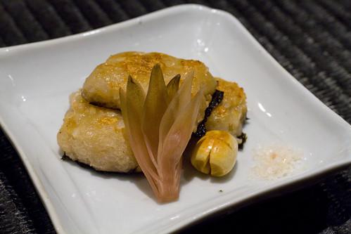 Lotus Root Isobe-Yaki
