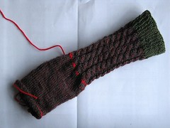Cabled Sock (WIP)