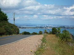 View of Auckland from Waiheke Island