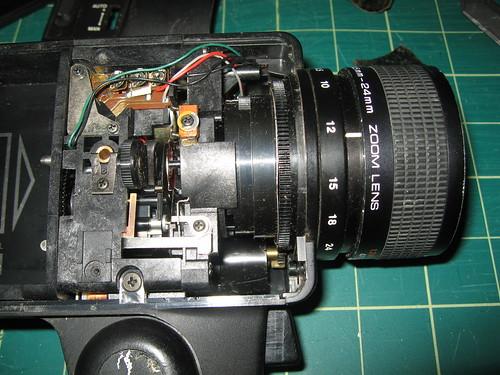 Video Camera - Focus / Shutter