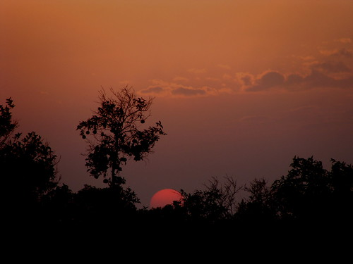 Sunset in Burewala