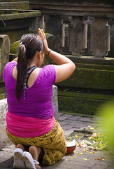 IMG_6157_1 (Images By Dori) Tags: bali temple ubud offerings