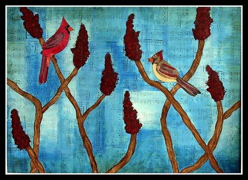 cardinals on sumac 2