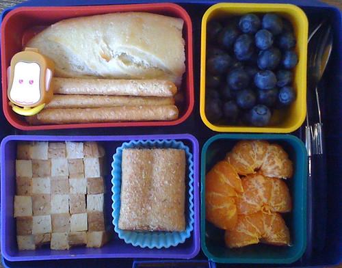 Kindergarten Bento #288: February 3, 2010