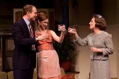 John Wernke (Paul), Meg Chambers Steedle (Corie) and Dori Legg (Ethel) (TwoRiverTheater) Tags: theater redbank trtc neilsimon barefootinthepark tworivertheaterco