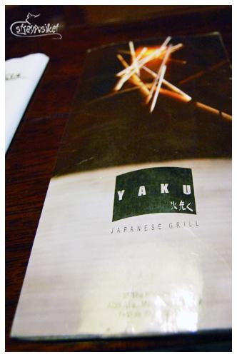 yaku menu