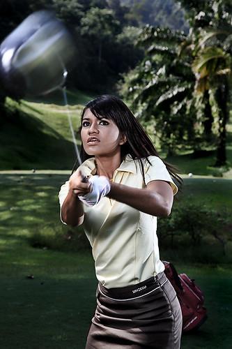 Golfer - Strobist