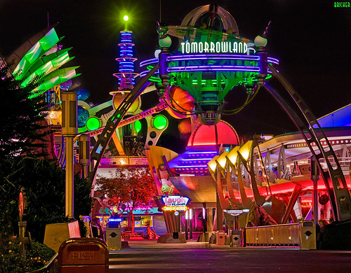 Walt Disney World - Magic Kingdom - Tomorrowland:  The Neon Jungle