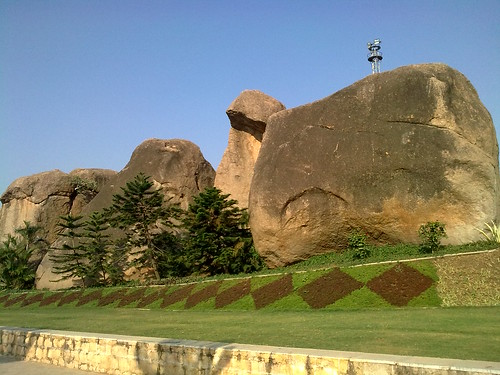 Rock garden @ Ramoji film city