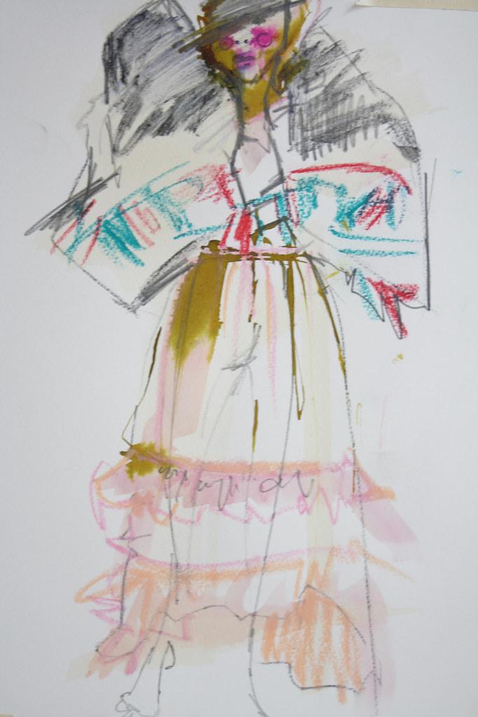 tartan plaid girl