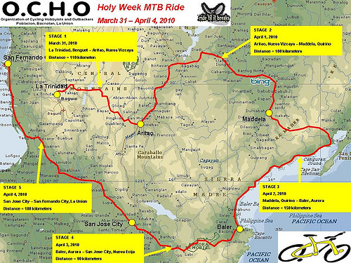 OCHO Holy Week MTB Ride