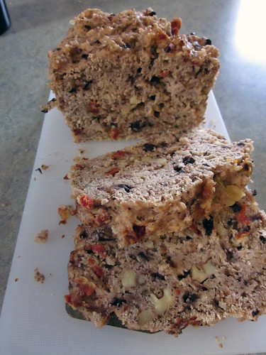 Mediterranean Olive, Sun dried Tomato and Walnut loaf