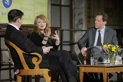 Krista Tippett, Andrew Solomon, and Paul Holdengräber