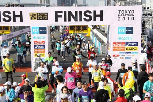 Live streaming the Tokyo Marathon 2010