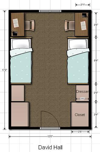 Dorm Room Floor Plans Floor Plans