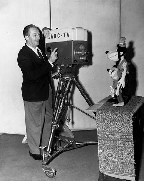 Burbank movie producer Walt Disney