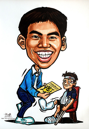 Caricature for Ministry of Manpower - 16