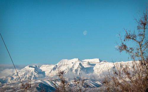 Moon over Mt. Timp