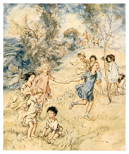 006-The springtide of life, poems of childhood (1918)- Arthur Rackham