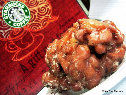 Starbucks Top Pot Apple Fritter Doughnut