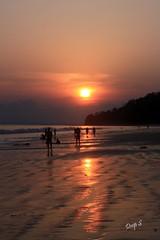 Sunset @ Radhanagar Beach