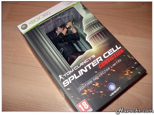 Splinter Cell Conviction - Edition Collector Limitée - 01