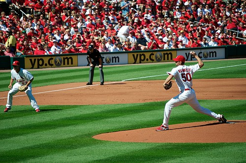 First pitch at home 2010