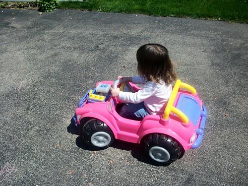 Bekah driving