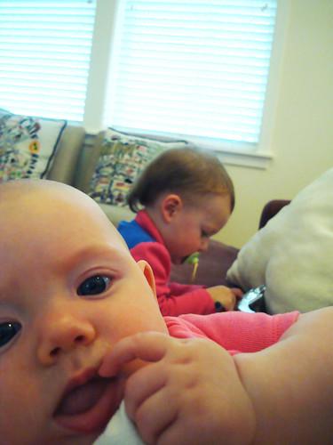 Dottie and Nora Lea