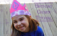 Birthday Crown Tutorial Main