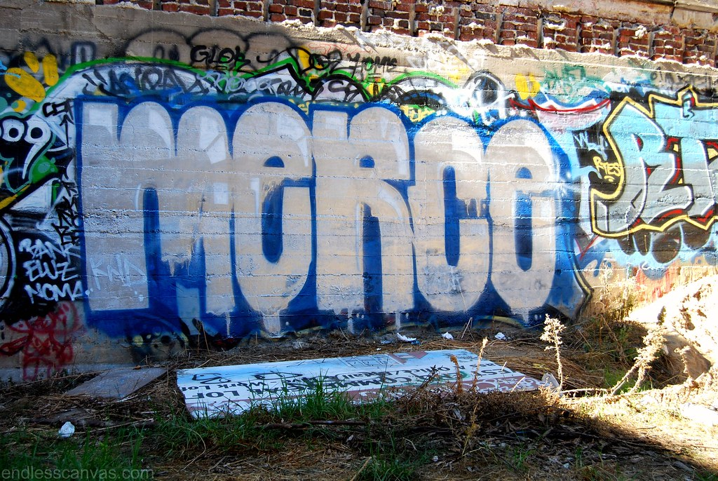 MERCE Graffiti Throwie in Santa Ana, Orange County CA.