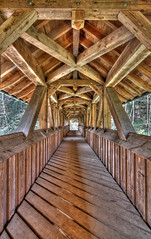 Brcke ber die Jagst bei Wollmershausen (matthiashn) Tags: bridge river germany tokina1224 coveredbridge brcke hdr jagst badenwuerttemberg photomatix hohenlohe canoneos450d wollmershausen