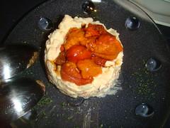 Ensaladilla rusa con caviar de erizo de mar