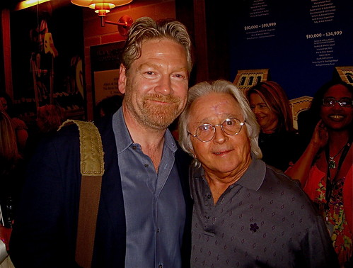 Kenneth Branagh and Artie Johnson