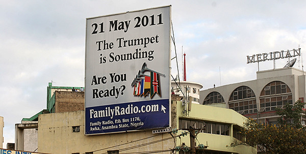 Camping's Nairobi Billboard