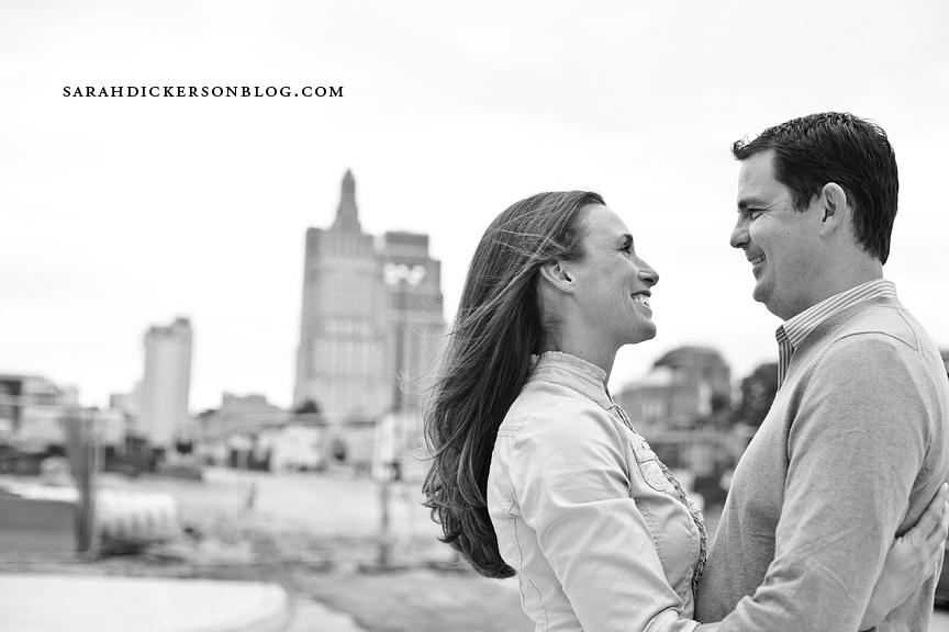 Kansas City Crossroads engagement photography