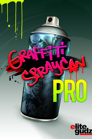 Graffiti Spray Can PRO