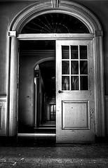 Fairfield Hills - Stamford Hall (Jack Wassell) Tags: old blackandwhite abandoned hall insane scary haunted creepy inside ghosts stamford asylum hdr psychiatric eery mental statehospital newtownct fairfieldhills