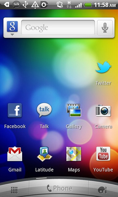 My Android Phone - App Screen